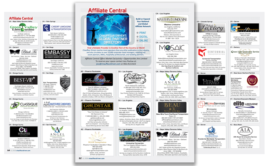 Affiliate Central Directory