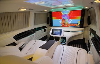 HQ Custom Design's Mercedes-Benz Metris Luxury Van Concept ...