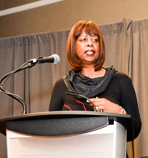 MLOA Keynote Speaker Sharon Pinder