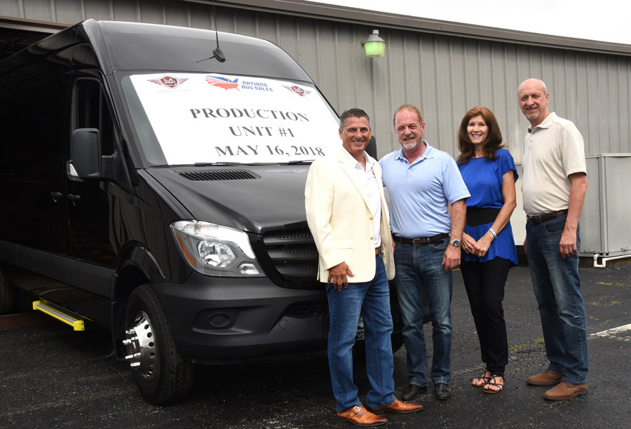 L.A. West Rolls First Sprinter Off Production Line