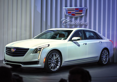 CD0515 Auto Show Cadillac CT6