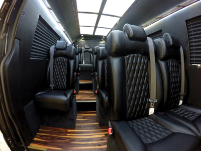 Springfield Coach Vehicles Interior