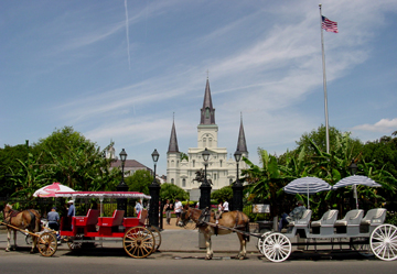 New Orleans carriage ride CD Retreat