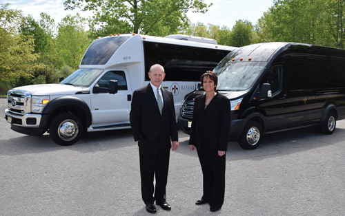 Royal Coachman's President Jon Epstein and CEO Amy O'Rourke, the company's owners.