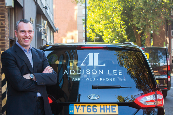 Addison Lee CEO Andy Boland