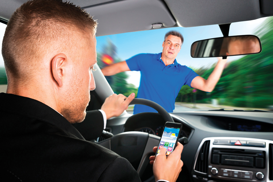 Distracted Driving Bob Crescenzo