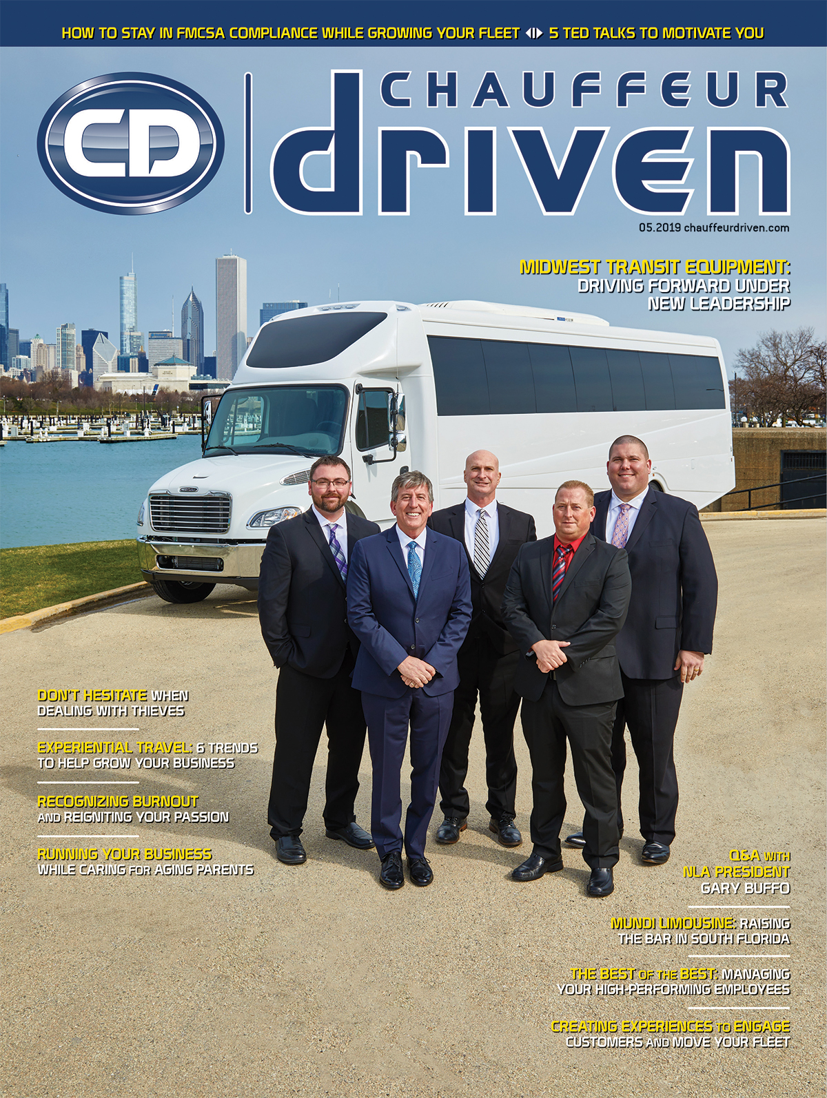 Cover Story: Midwest Transit Equipment: Driving Forward