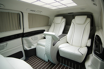 HQ Custom Designs Mercedes Benz Metris Luxury Van Concept
