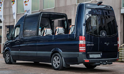 Meridian Specialty Vehicles - Mercedes Sprinter