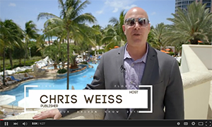 Chris Weiss Loews Miami Beach Hotel Show Video