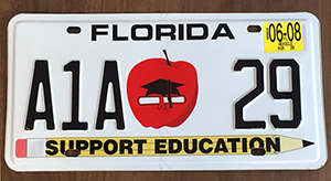 A1A Education Tag
