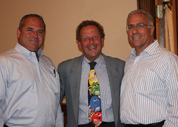 Steve Bufe, Philip Jagiela and PRLA Director Anthony Onorata