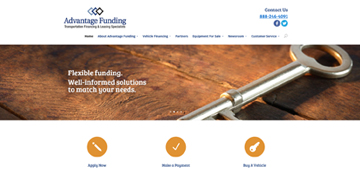 Advantage Funding launches updated website