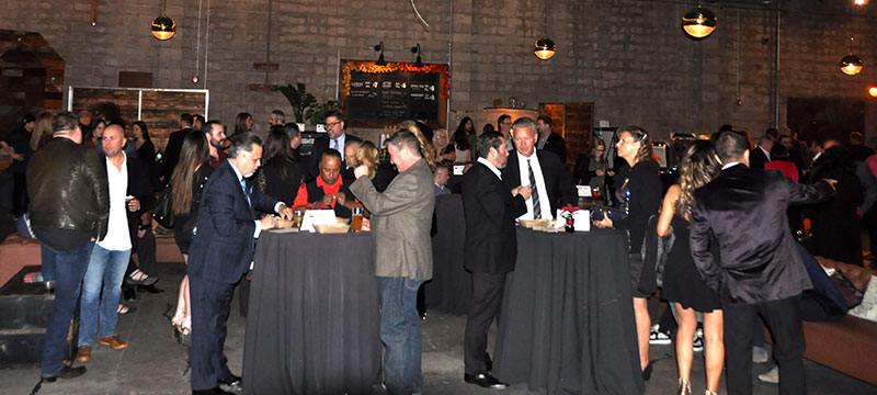 Nearly 150 industry members attended the December 4 GCLA holiday party