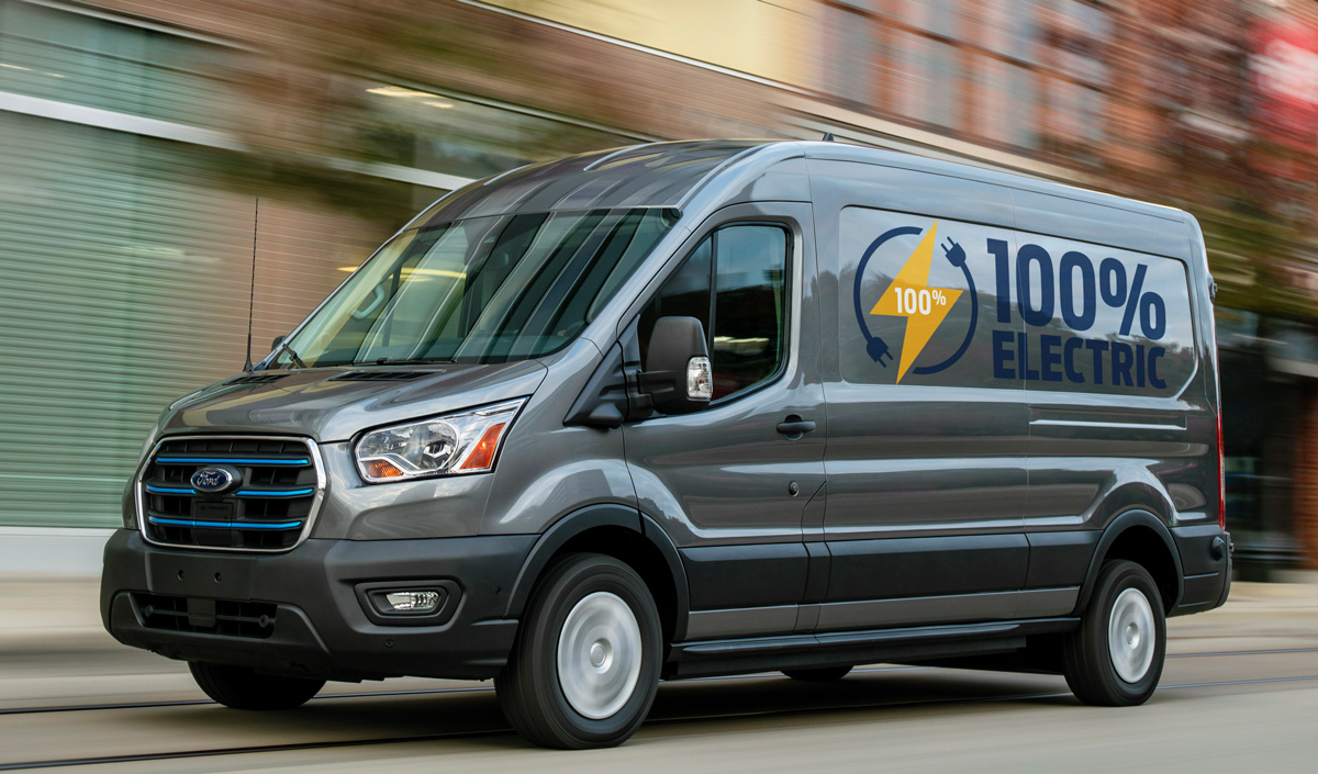 All-New Ford E-Transit