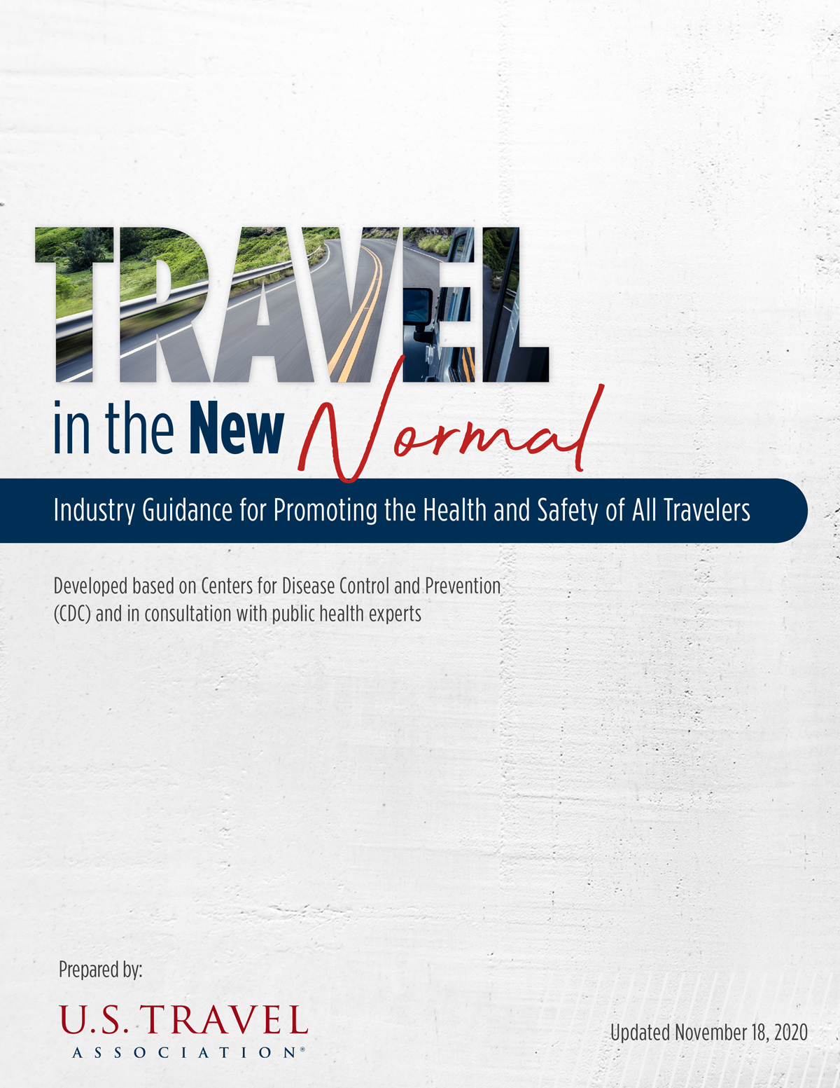 US Travel Association Health and Safety Guidance